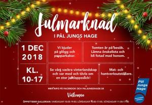 Julmarknad lördag 1 december